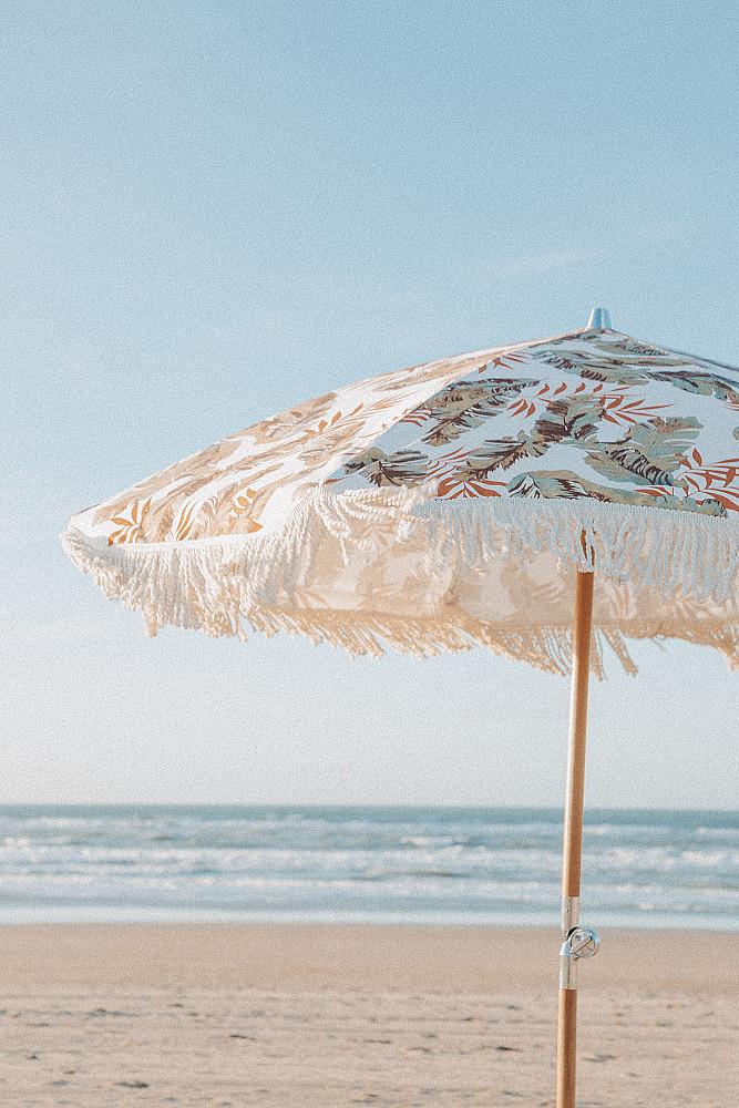 Strandparasol Vintage Franje