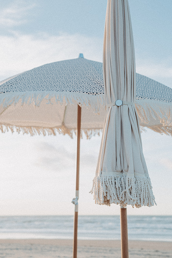 Luxe Strand Parasol